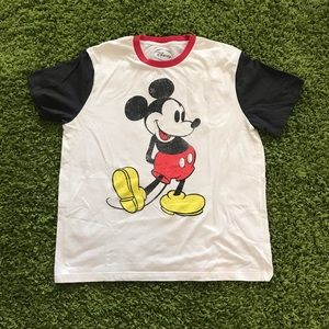 Mickey mouse graphic T's